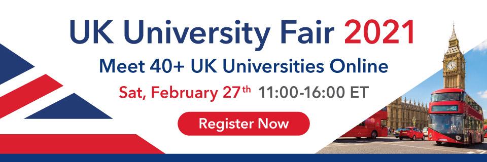 UK University Fair 2021